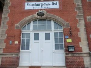 Ostbahnhof Naumburg
