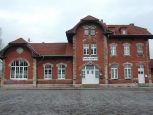 Ostbahnhof Naumburg - Holz - Denkmalschutz