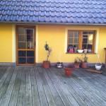 Balkontür und Fenster mit Sprossen